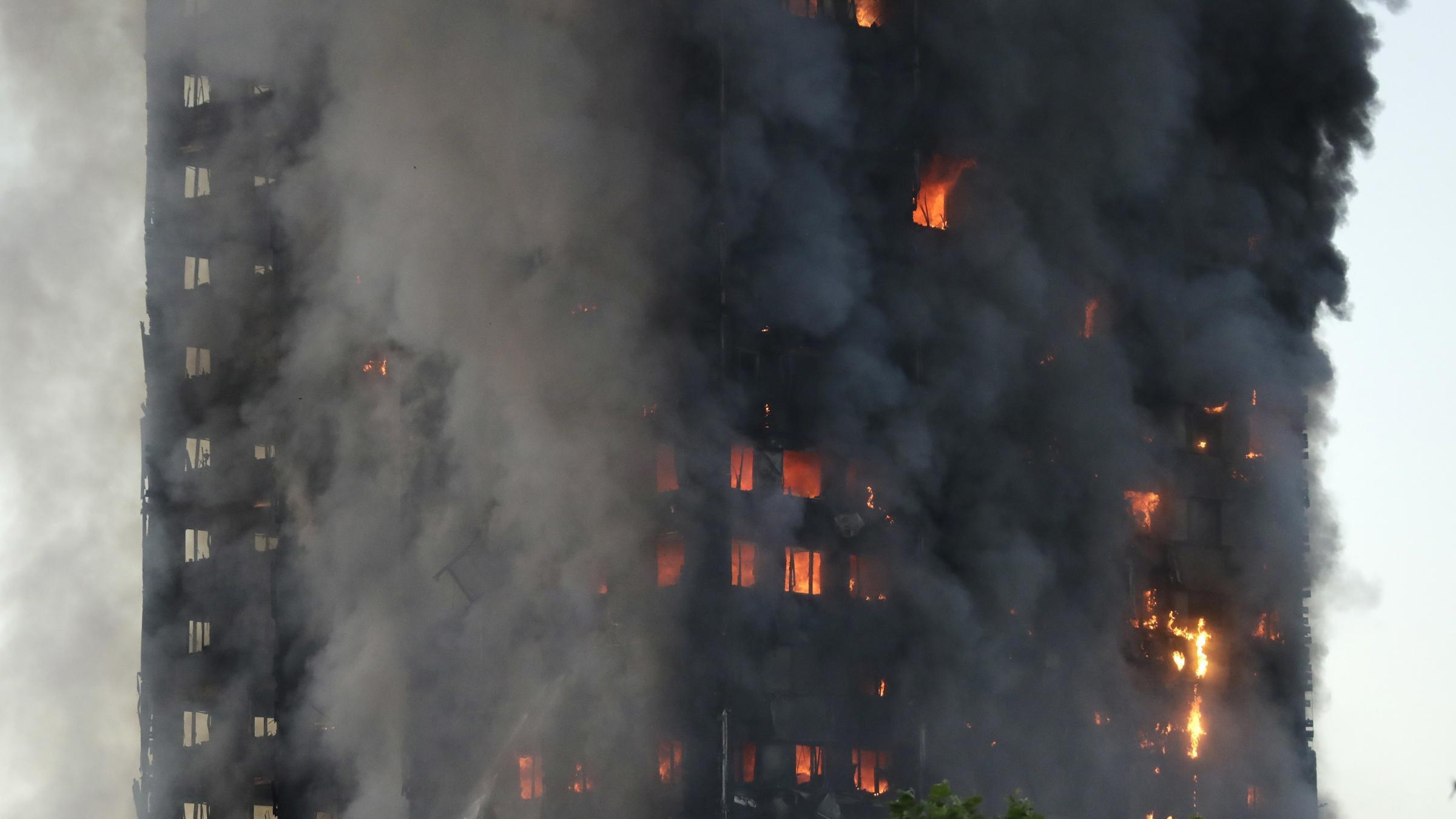 London fire: Blaze engulfs apartment block in West London