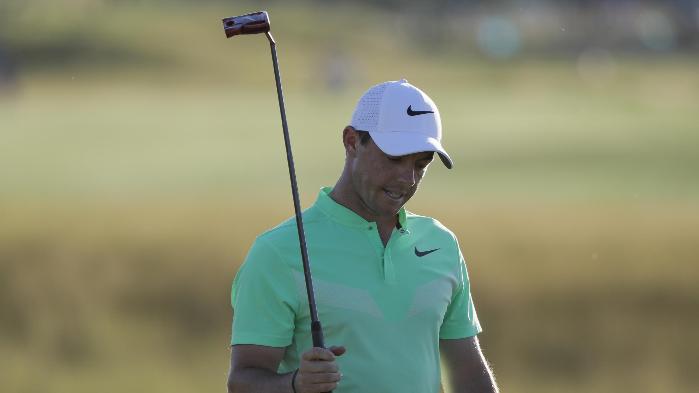 McIlroy dismisses Twitter criticism after US Open exit